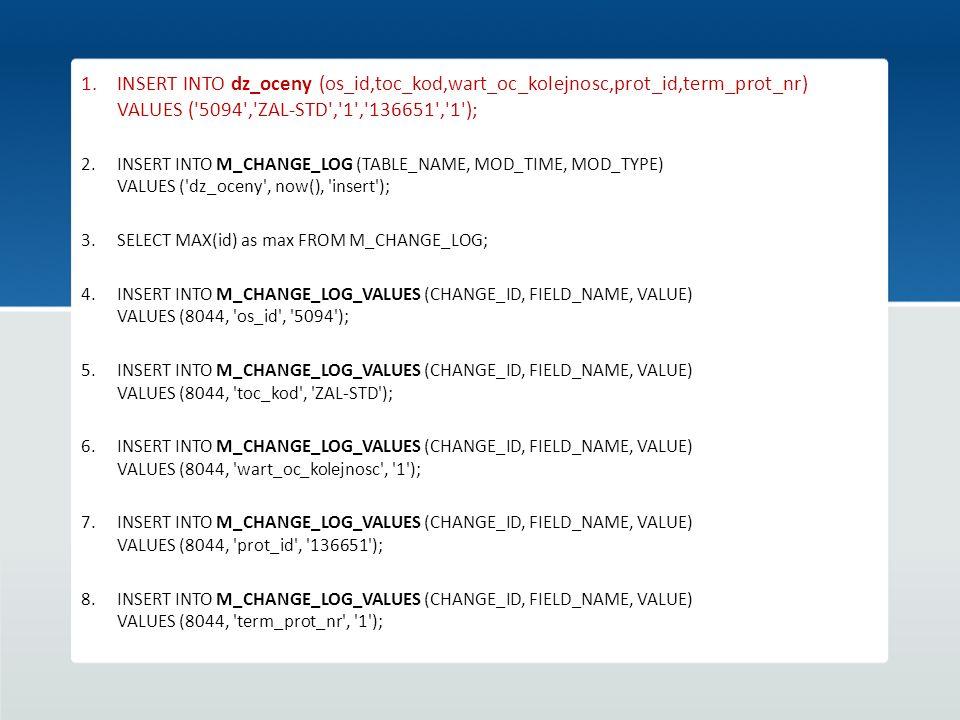 INSERT INTO dz_oceny (os_id,toc_kod,wart_oc_kolejnosc,prot_id,term_prot_nr) VALUES ( 5094 , ZAL-STD , 1 , 136651 , 1 );