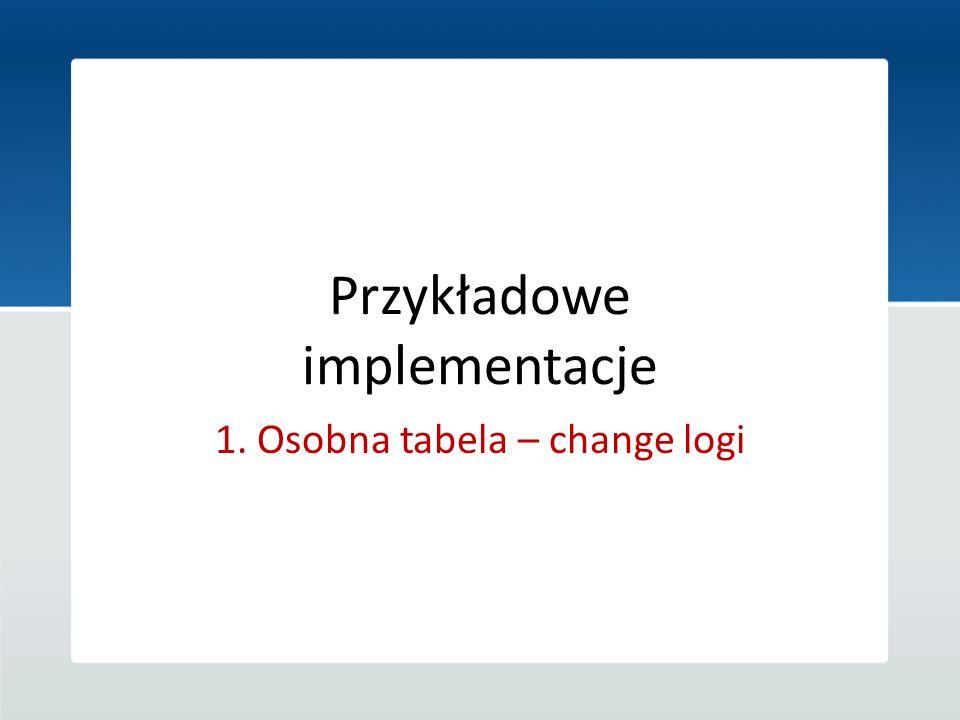 Przykładowe implementacje