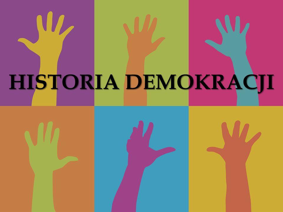 HISTORIA DEMOKRACJI