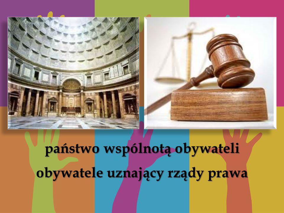 obywatele uznający rządy prawa