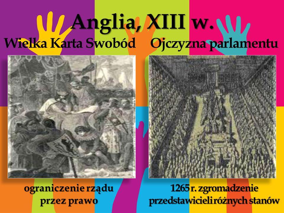 1265 r. zgromadzenie przedstawicieli różnych stanów