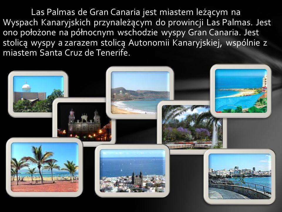 Las Palmas de Gran Canaria jest miastem leżącym na Wyspach Kanaryjskich przynależącym do prowincji Las Palmas.