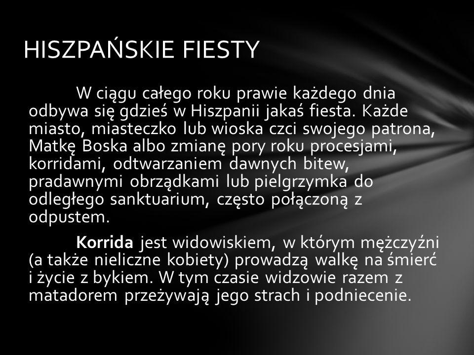 HISZPAŃSKIE FIESTY