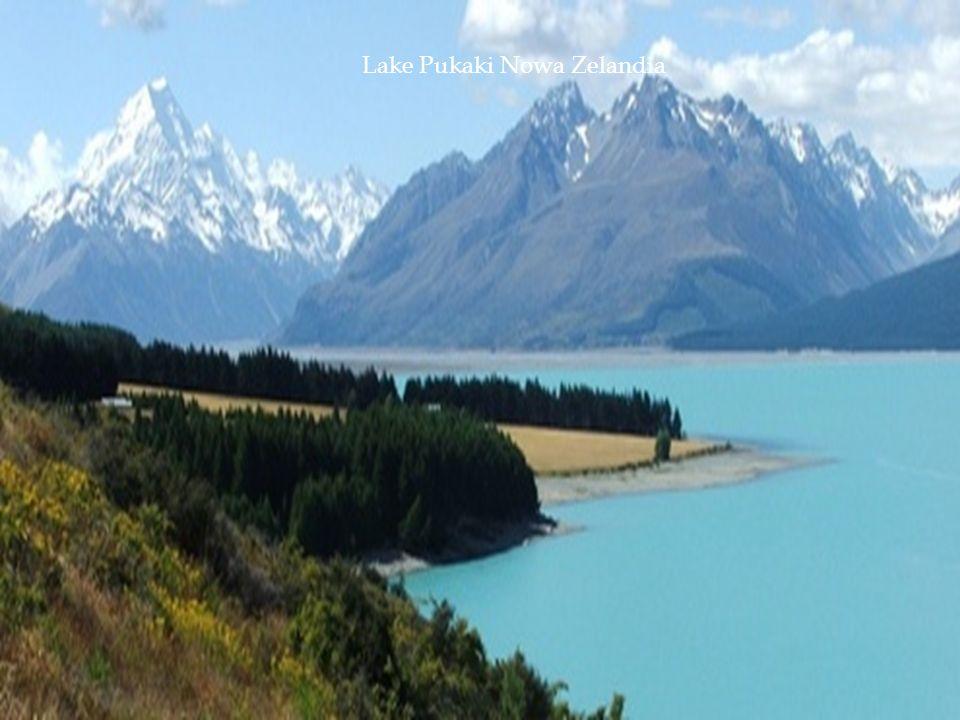 Lake Pukaki Nowa Zelandia