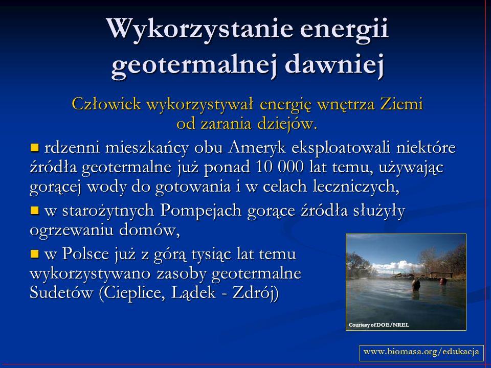 Wykorzystanie energii geotermalnej dawniej