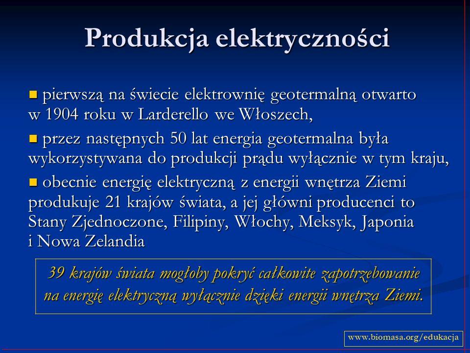 Produkcja elektryczności