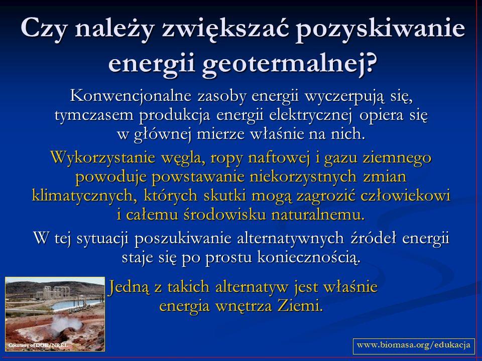 Czy należy zwiększać pozyskiwanie energii geotermalnej