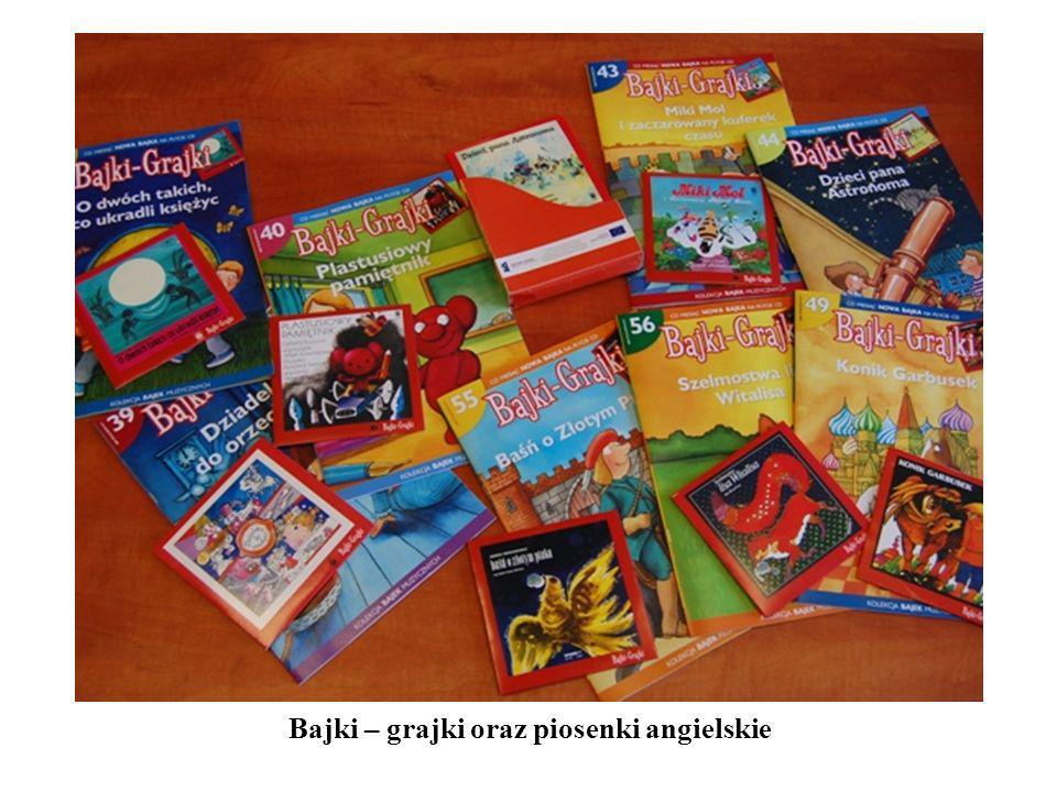 Bajki – grajki oraz piosenki angielskie