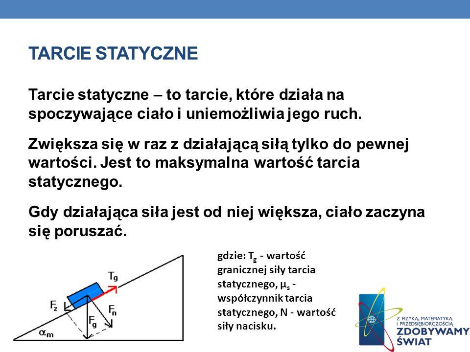 Tarcie statyczne