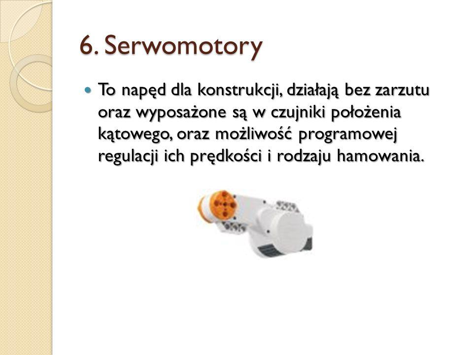 6. Serwomotory