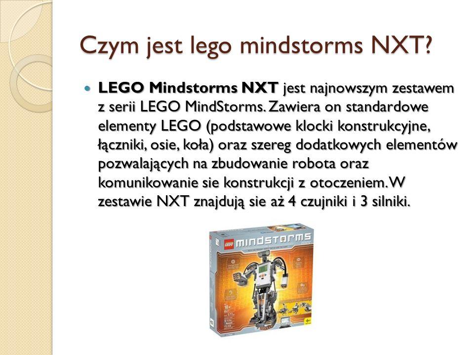 Czym jest lego mindstorms NXT