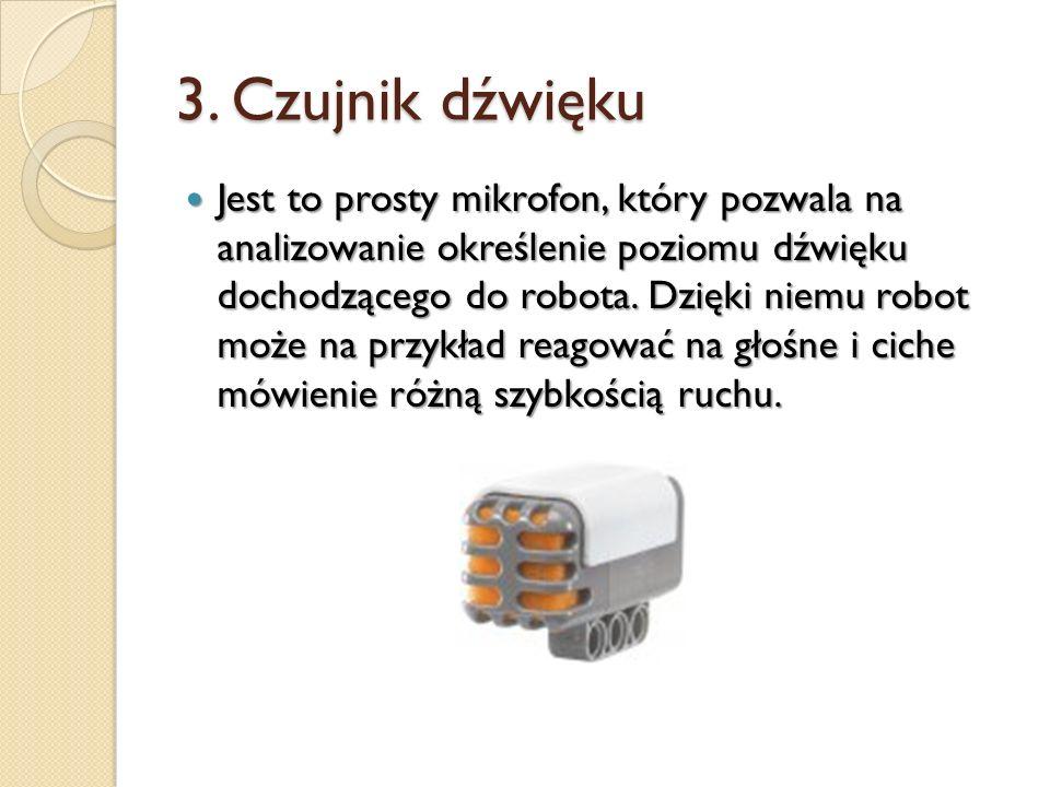3. Czujnik dźwięku