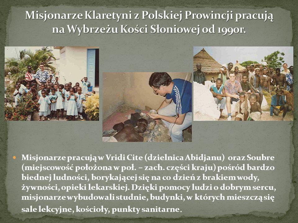 Misjonarze Klaretyni z Polskiej Prowincji pracują na Wybrzeżu Kości Słoniowej od 1990r.