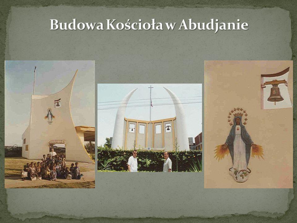 Budowa Kościoła w Abudjanie
