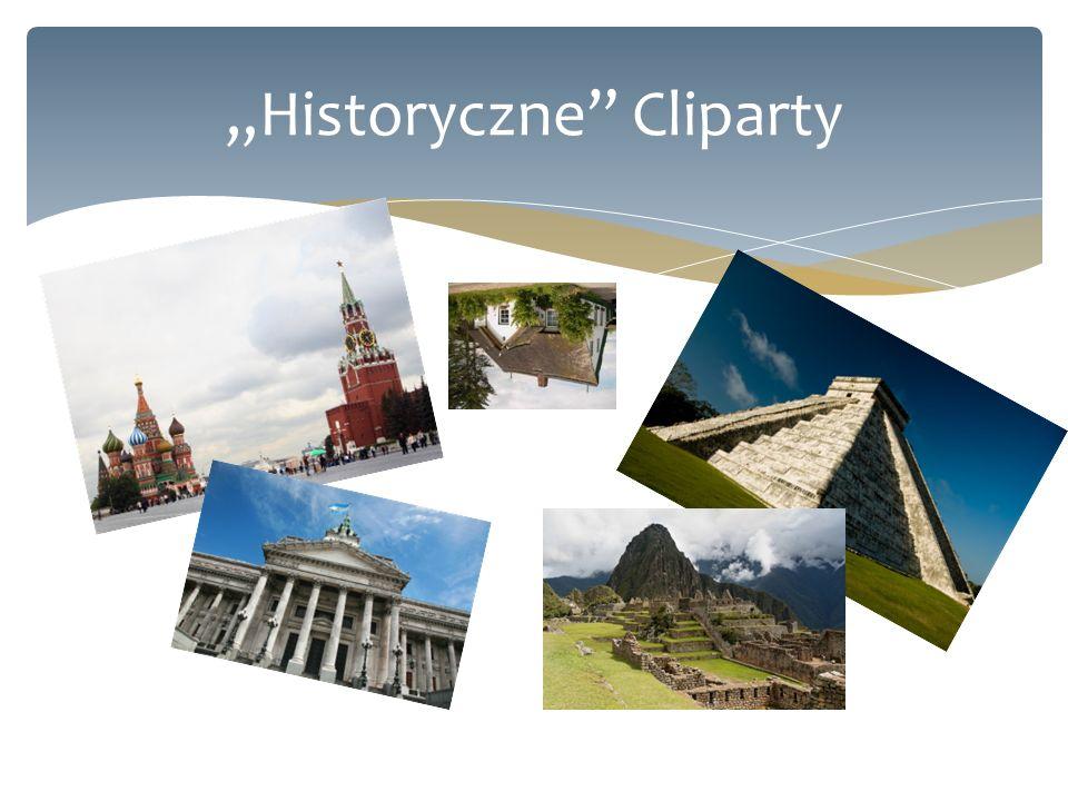 """Historyczne Cliparty"