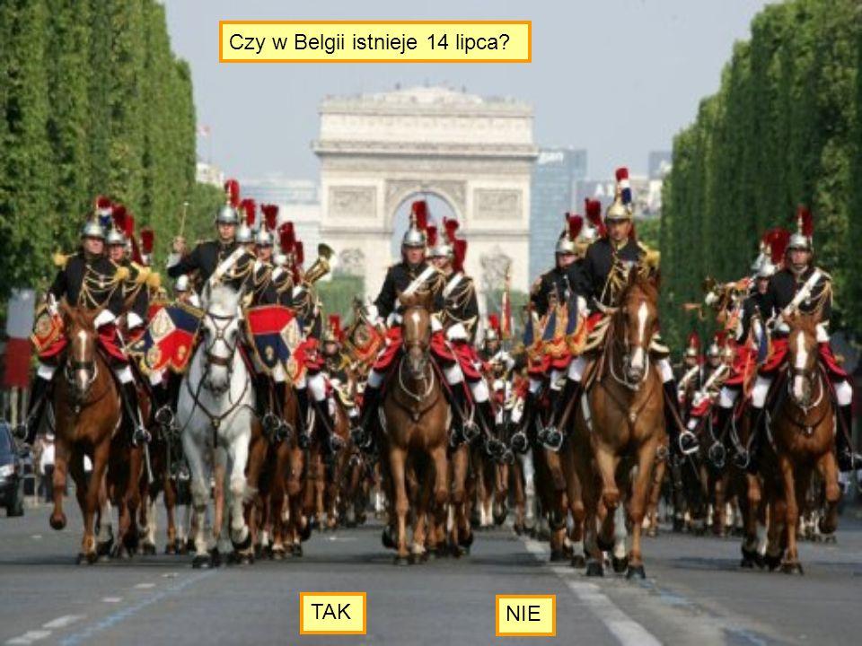 Czy w Belgii istnieje 14 lipca