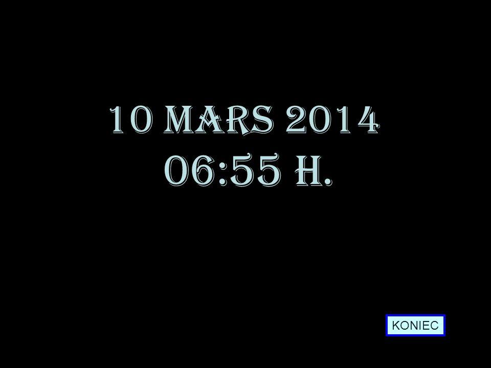 28 mars 2017 10:21 h. KONIEC
