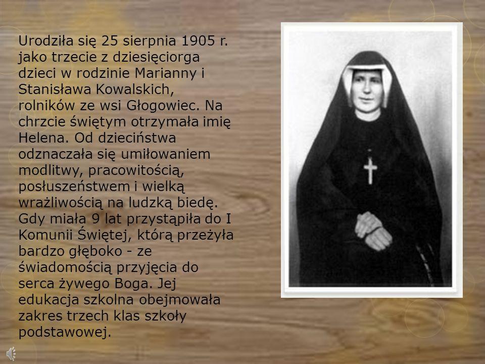Urodziła się 25 sierpnia 1905 r