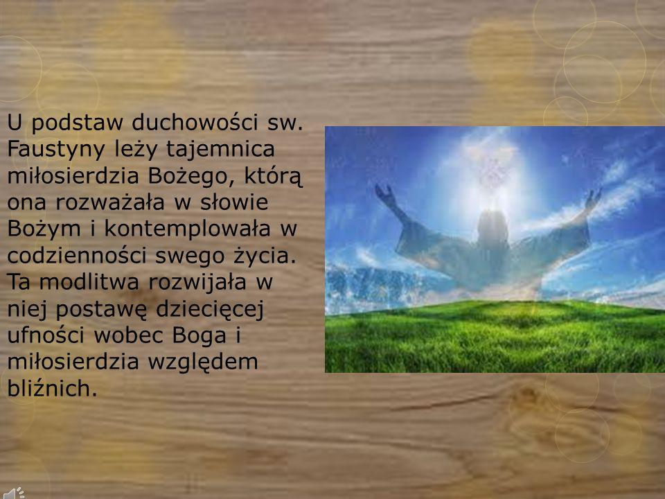 U podstaw duchowości sw