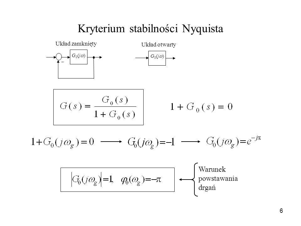 Kryterium stabilności Nyquista