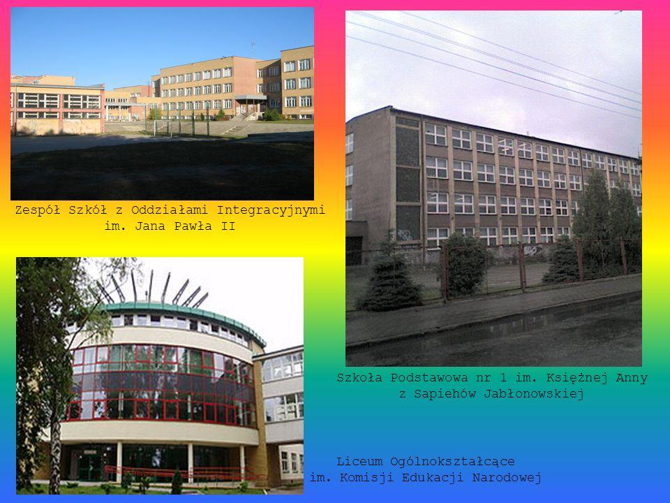 Zespół Szkół z Oddziałami Integracyjnymi im. Jana Pawła II