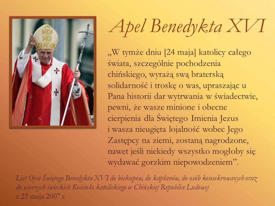 Apel Benedykta XVI