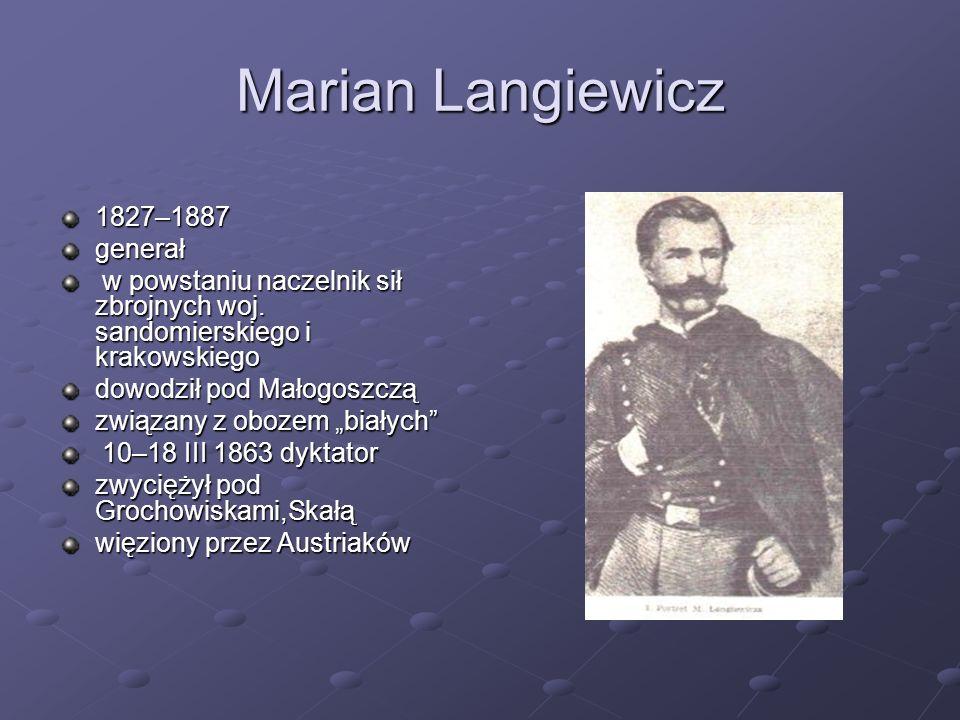 Marian Langiewicz 1827–1887 generał