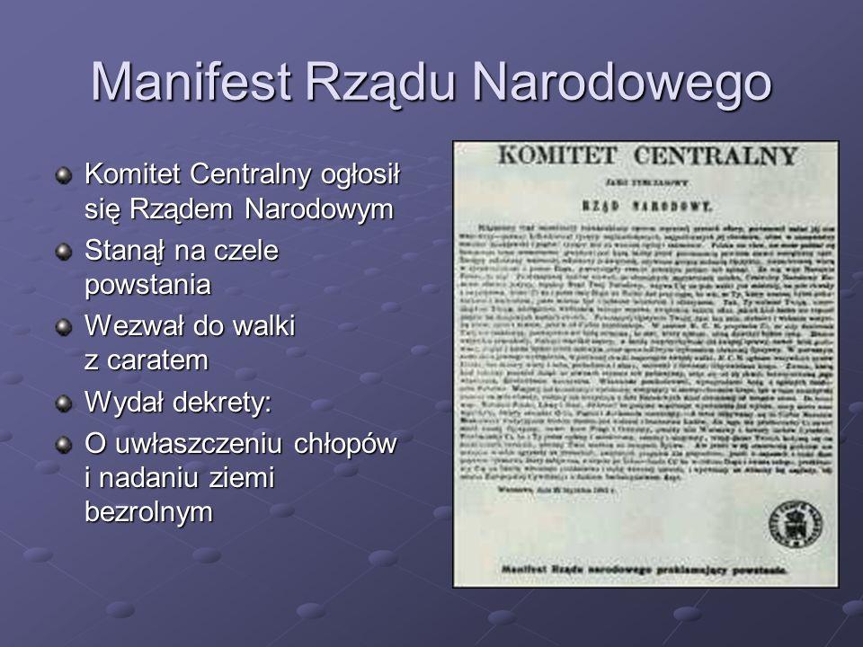 Manifest Rządu Narodowego