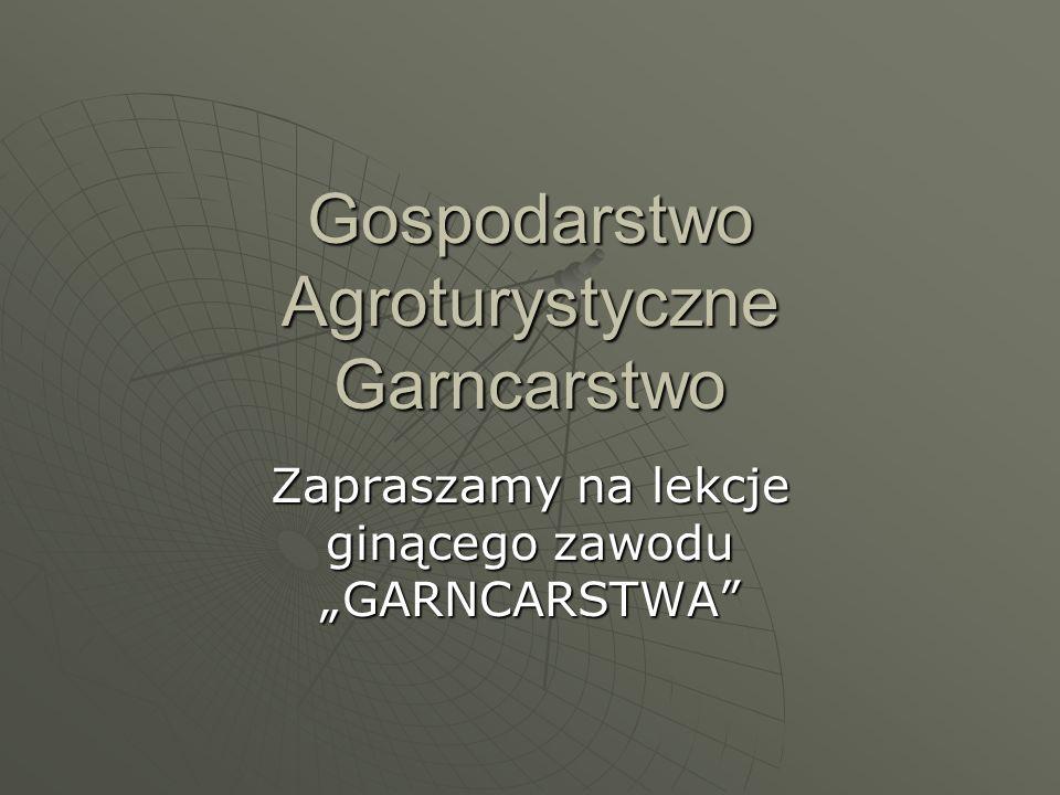 Gospodarstwo Agroturystyczne Garncarstwo