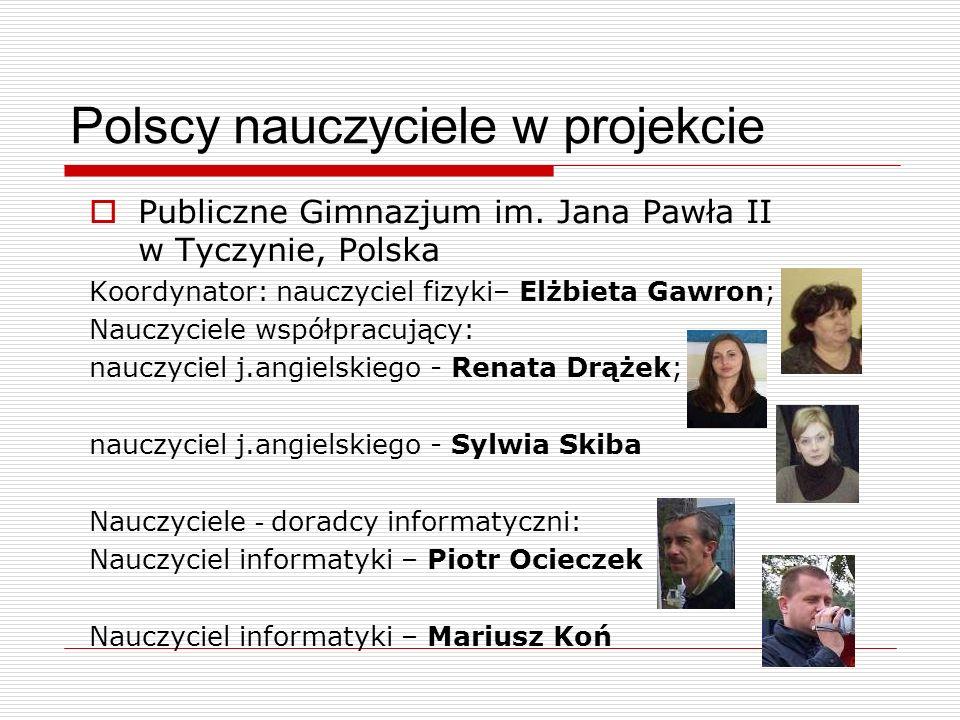 Polscy nauczyciele w projekcie
