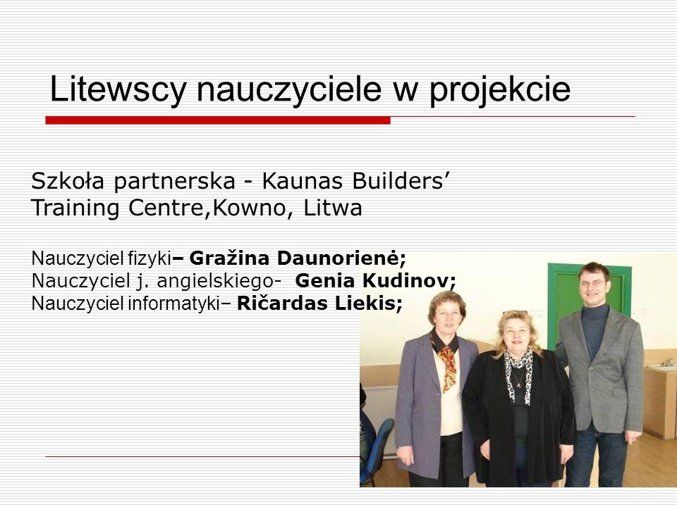 Litewscy nauczyciele w projekcie