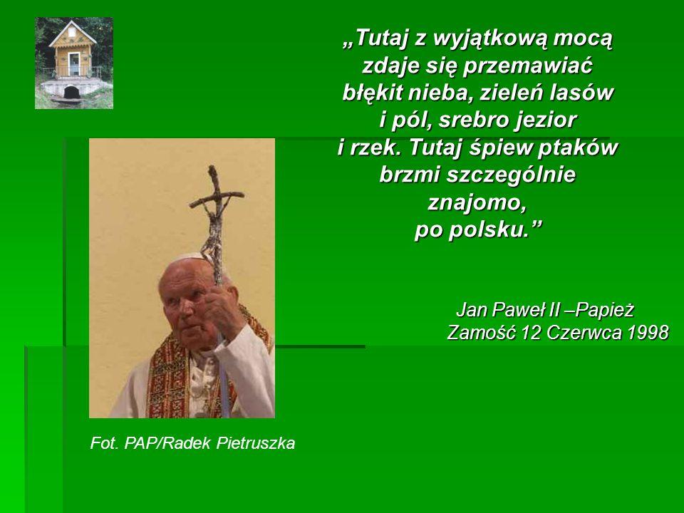 Jan Paweł II –Papież Zamość 12 Czerwca 1998