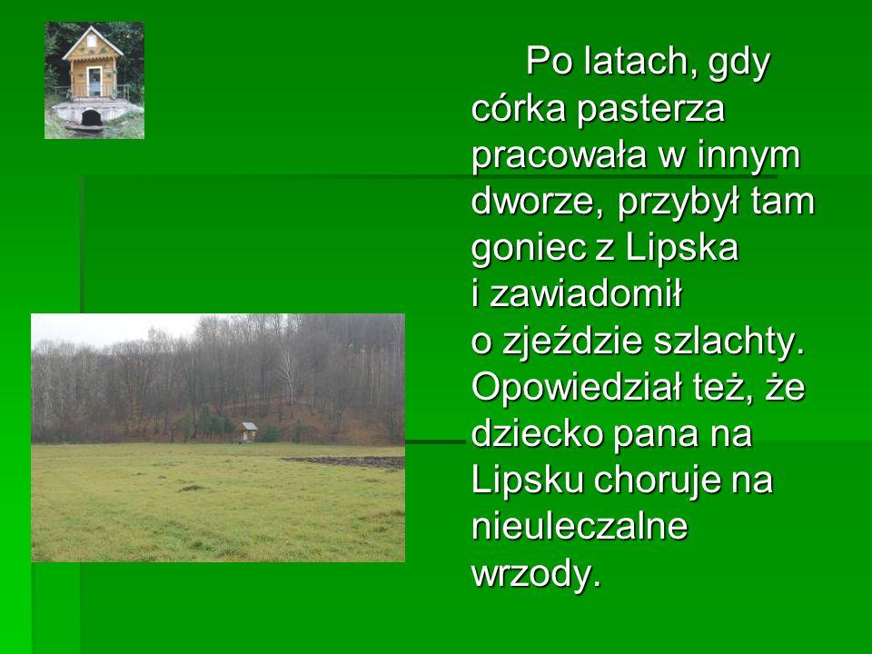 Po latach, gdy córka pasterza pracowała w innym dworze, przybył tam goniec z Lipska i zawiadomił o zjeździe szlachty.