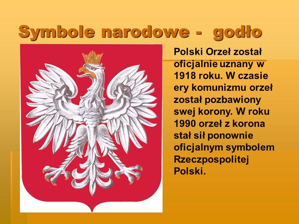 Symbole narodowe - godło