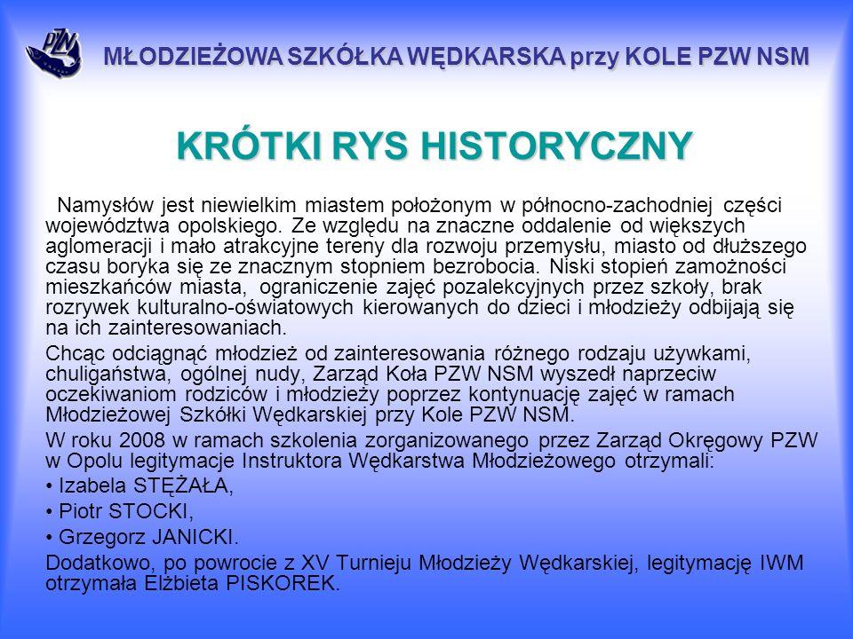 KRÓTKI RYS HISTORYCZNY