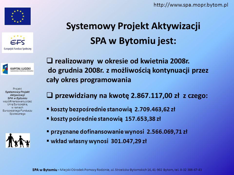 Systemowy Projekt Aktywizacji