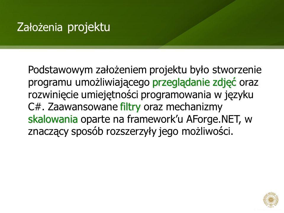 Założenia projektu