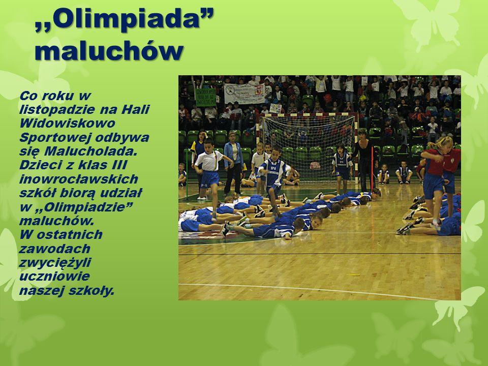 ,,Olimpiada maluchów