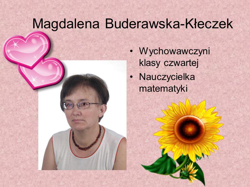 Magdalena Buderawska-Kłeczek