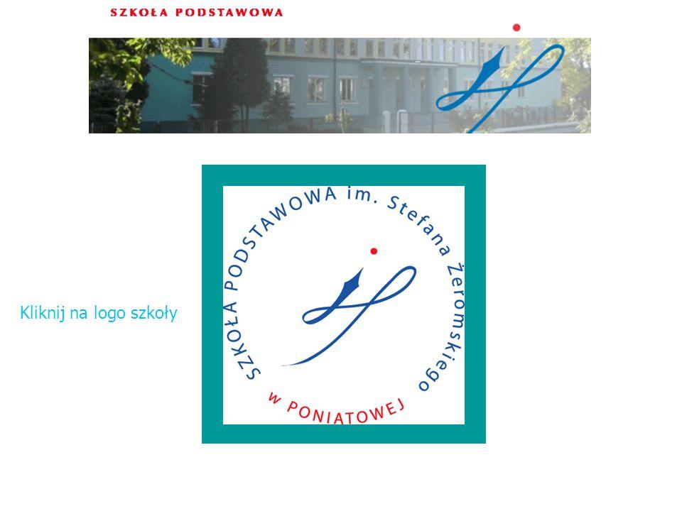 Kliknij na logo szkoły