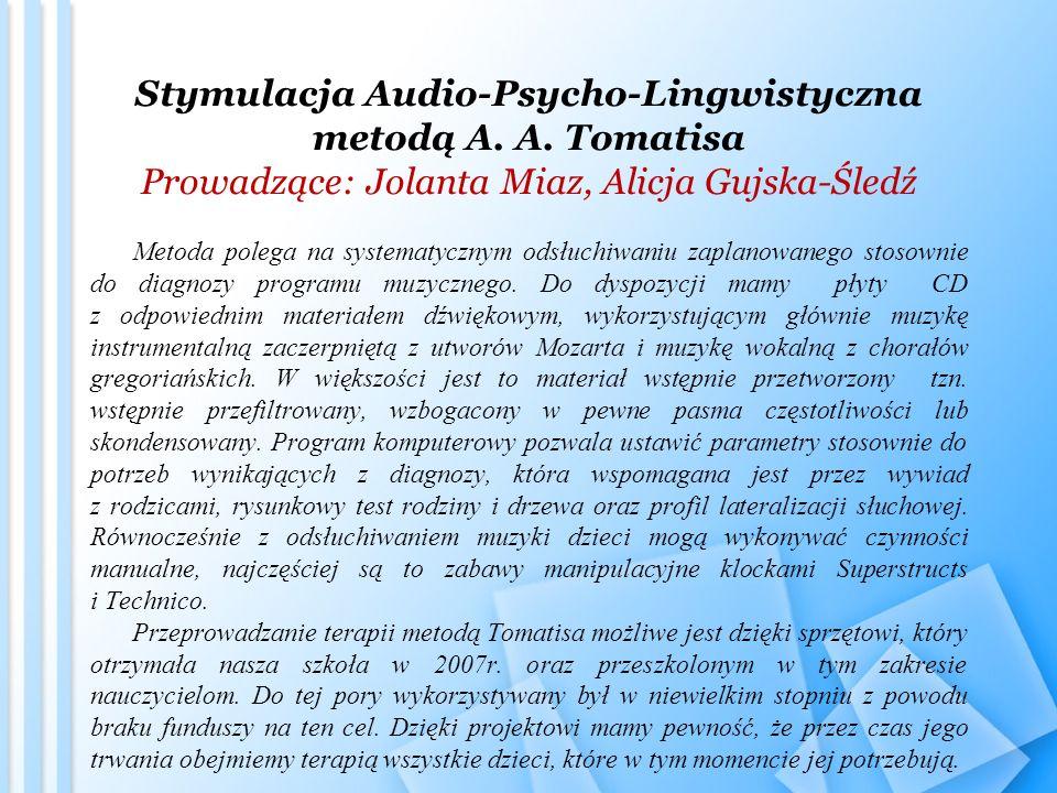 Stymulacja Audio-Psycho-Lingwistyczna metodą A. A