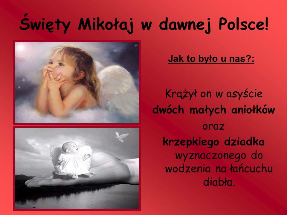 Święty Mikołaj w dawnej Polsce!
