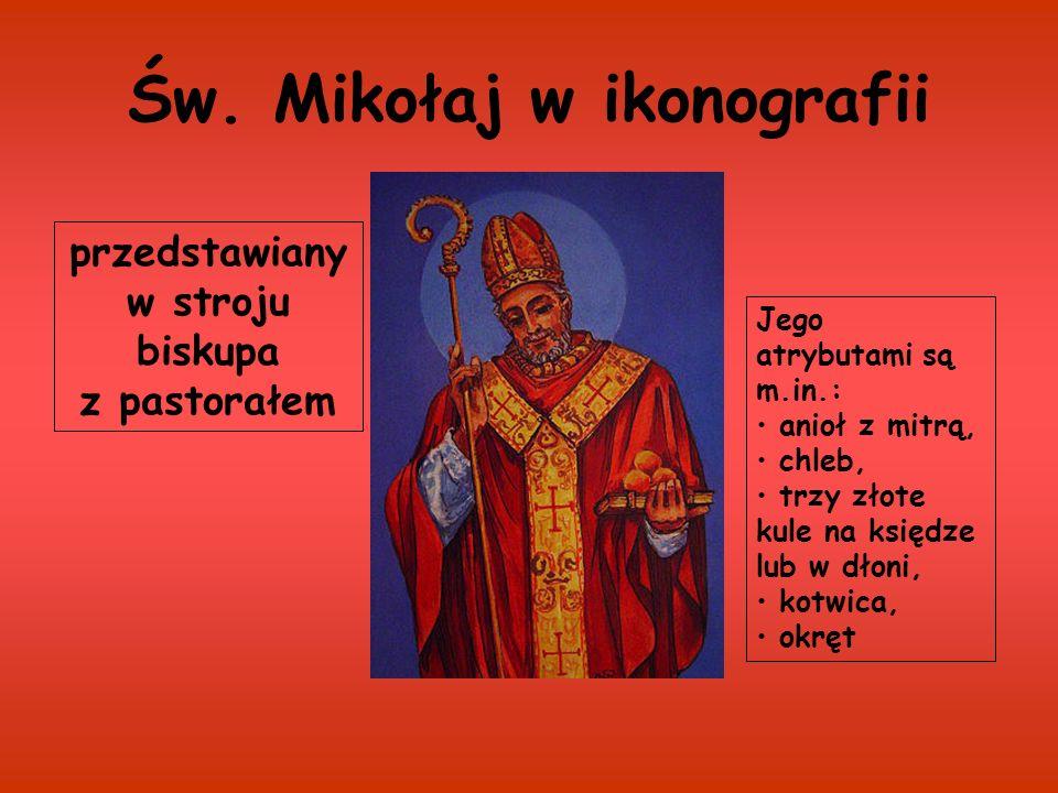 Św. Mikołaj w ikonografii