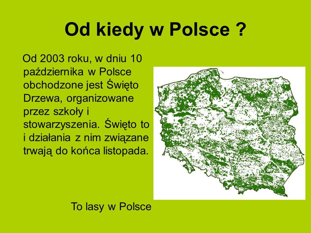 Od kiedy w Polsce
