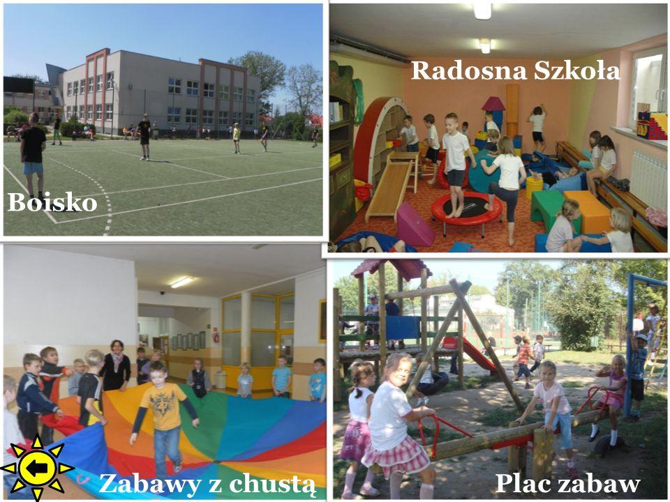 Radosna Szkoła Boisko Zabawy z chustą Plac zabaw