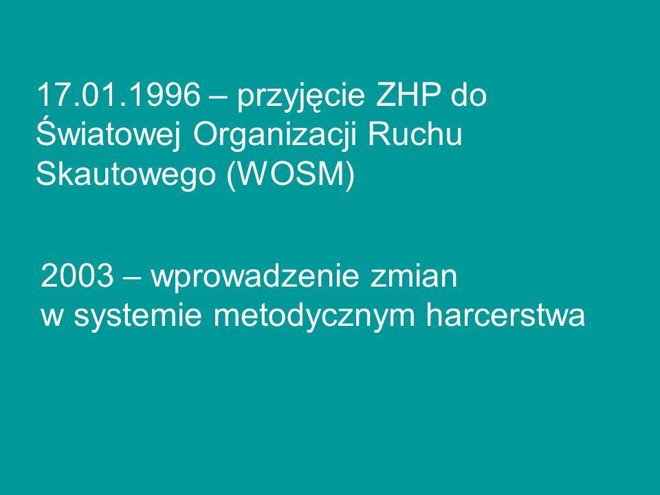17.01.1996 – przyjęcie ZHP do Światowej Organizacji Ruchu Skautowego (WOSM)