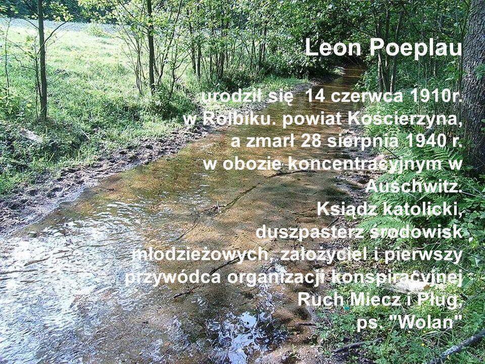 Leon Poeplau urodził się 14 czerwca 1910r. w Rolbiku