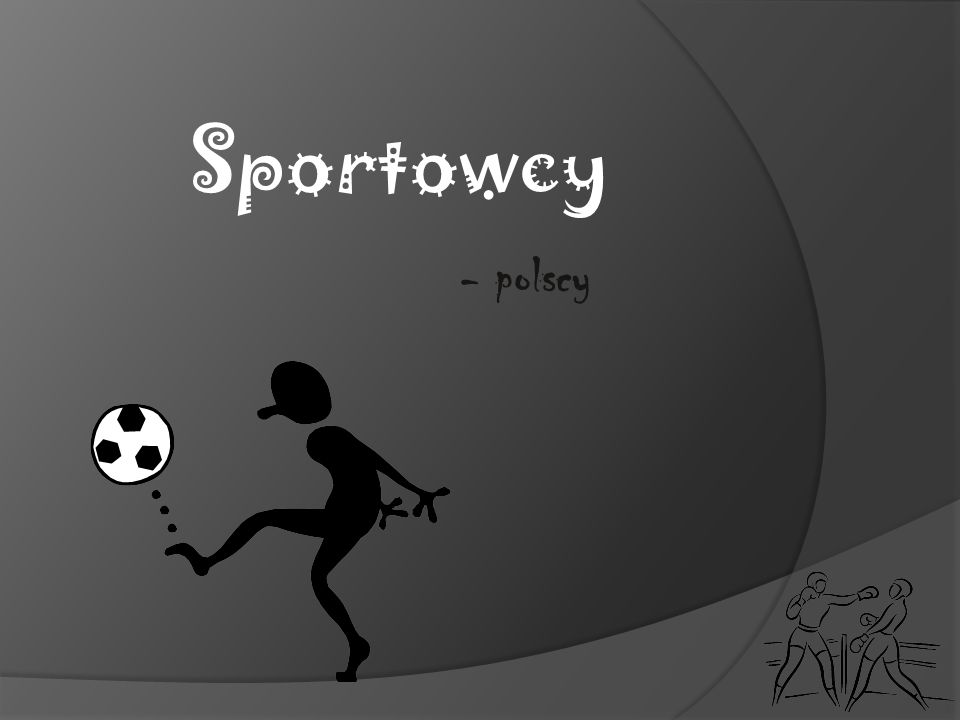 Sportowcy - polscy