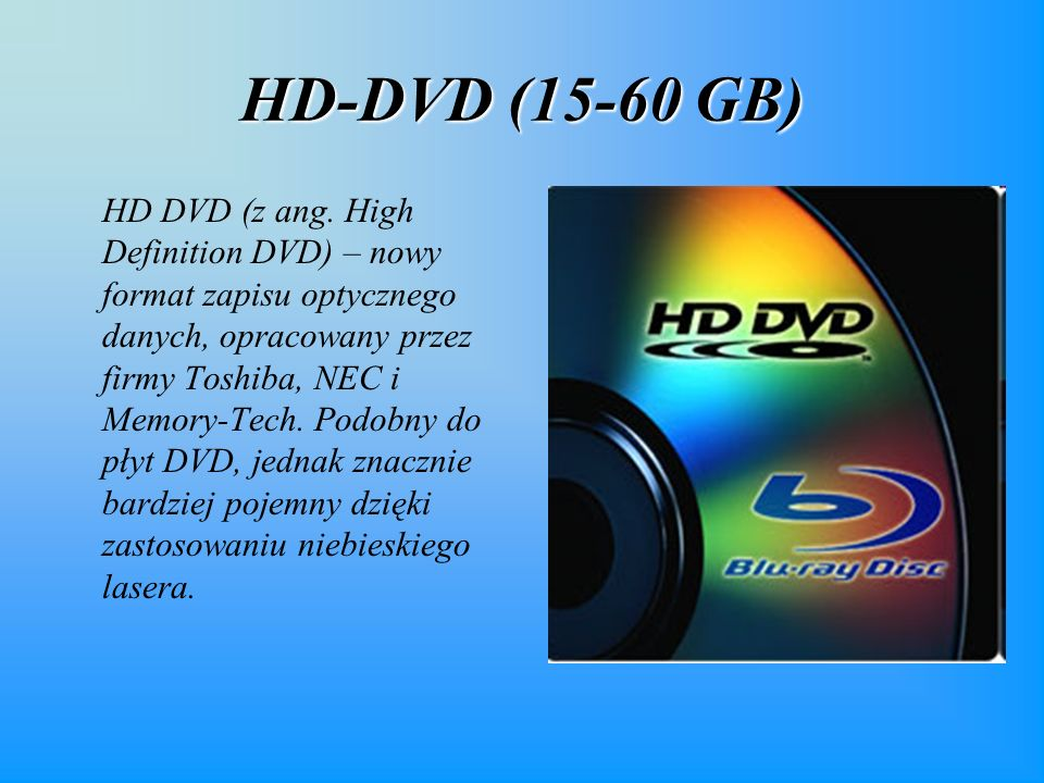 HD-DVD (15-60 GB)