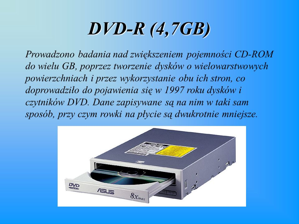 DVD-R (4,7GB)